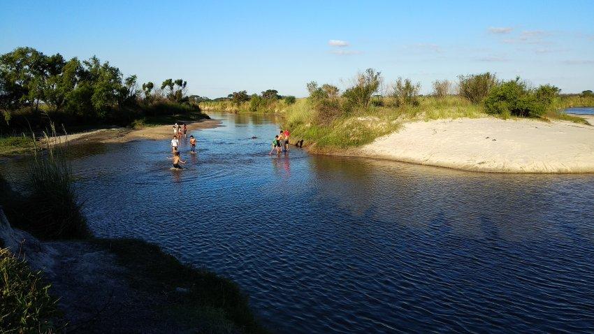 Postales de Rodaje: Una tarde en el arroyo