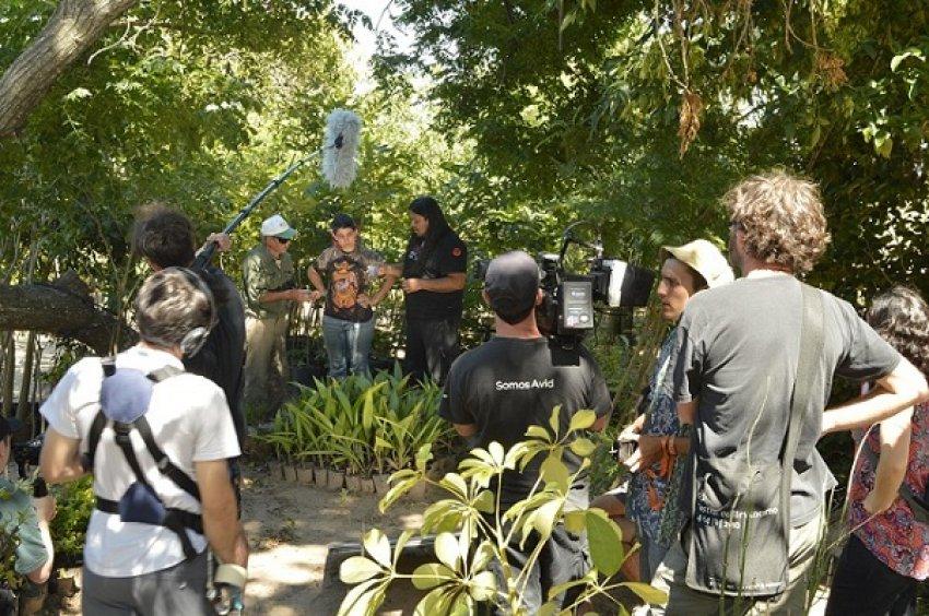 De rodaje: En busca de un proyecto para  recuperar la identidad campesina